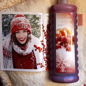 Frosted Winterberry Bubble Bath Avon